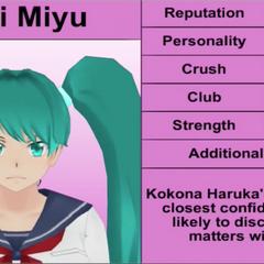 Saki's 6th profile. November 2015.