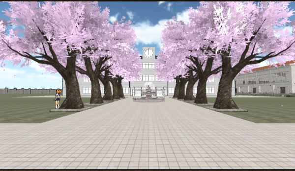 Image - High Atmosphere School Front.jpg | Yandere Simulator Wiki ...