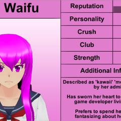 Mai's 3rd profile. January 15th, 2016.