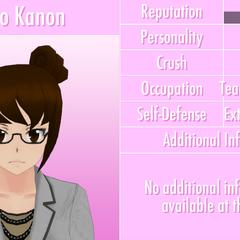 Kaho's 8th profile. June 1st, 2016.
