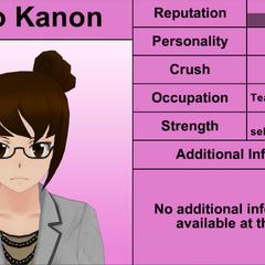 Kaho Kanon's 7th profile. April 4th, 2016.