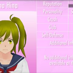 Yuna's 10th profile. May 19th, 2017.
