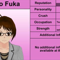 Rino Fuka's 7th profile. April 4th, 2016.