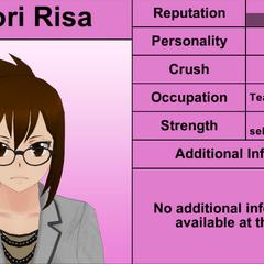 Shiori Risa's 7th profile. April 4th, 2016.
