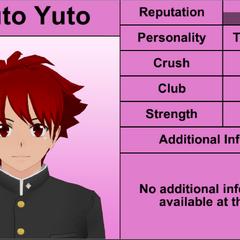 Haruto's 7th profile. February 8th, 2016.