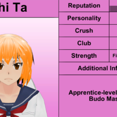 Shima's 3rd profile. February 8th, 2016.