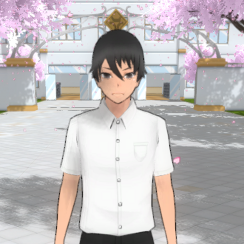 Yandere-kun's second in-game model. March 15th, 2017.