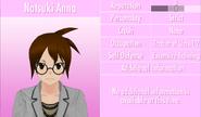 3-6-2016 Natsuki Anna Profile
