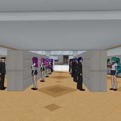 學生在他們的儲物櫃 [03/06/2016]