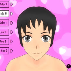Hair Style #24 (Picky)
