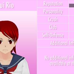 Yui's 9th profile. June 1st, 2016.