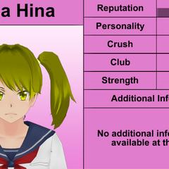 Quinto perfil de Yuna.