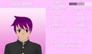 6-1-2016 Riku Soma Profile