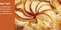 Brandy Pear Tart