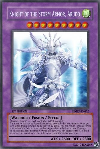 Knight of the Storm Armor, Arudo