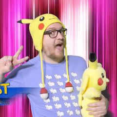 Pokémon fanboy CaffCast of Kim's Pokémon TCG series