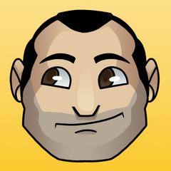 Adrian's current Twitter avatar.