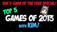 Kim's Top 5 Games 2013
