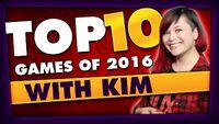 Kim's Top 5 Games 2016