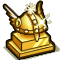Trophy-Gold Valkyrie Helm