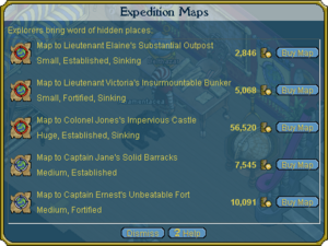 Imperial Outpost charts