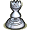 Trophy-Silver Hourglass
