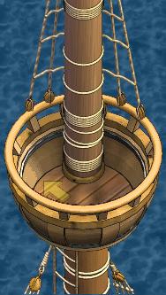 Grand frigate Main Crow's Nest