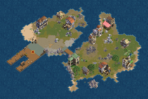 Olive Island (Cobalt)