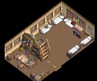 War brig Cabin