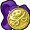 Trophy-Glittering Gold