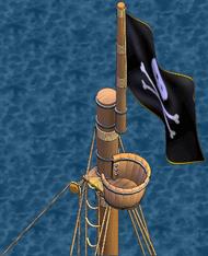 Merchant galleon Fore Crow's Nest
