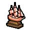 Trophy-Bronze Merchant Galleon