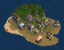 Pranayama Island (Cobalt)