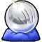 Trophy-Silver Cannon Ball