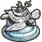 Trophy-Silver Archelon