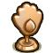 Trophy-Bronze Eye of Flame