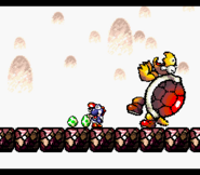 Hookbill Attacked - Super Mario World 2