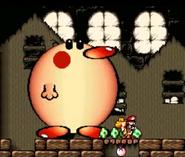 Yoshi's Island SNES screenshot.