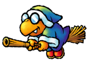 Kamek Artwork - Yoshi's Island DS