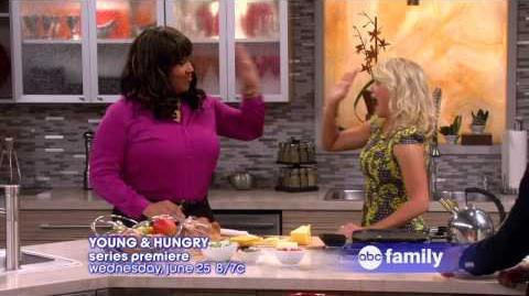 YOUNG & HUNGRY Series Premiere Wednesday, June 25 at 8 7c Official Preview-1