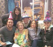 Young & Hungry Cast with Betty White