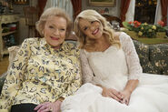 Betty White & Emily Osement