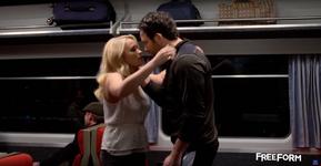 Gabi & Josh Leaning in for a Kiss (5x10)