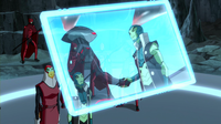 Aqualad drives a wedge between partners