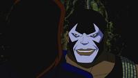Bane resists telepathy