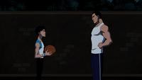 Bruce and Robin Basketball