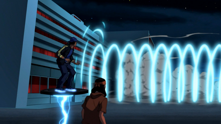 File:Blue Beetle's sonic cannon attack.png