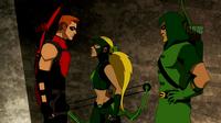 Red Arrow meets Artemis