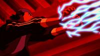 Virgil using his powers