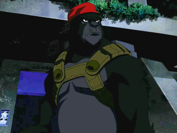 Young Justice The Brain Monsieur Mallah...